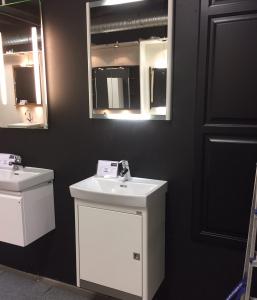 DuoBad Vilan 50cm med spegel & blandare