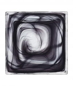 Cirrus Black Konstkakel plattor – 4 pack