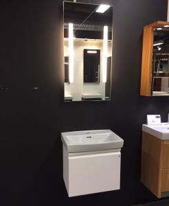 Badrumsmöbler, bredd 56 cm utställningsex
